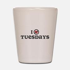 Don't Heart Tuesdays Shot Glass