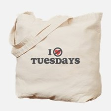 Don't Heart Tuesdays Tote Bag
