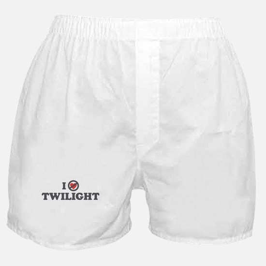 Don't Heart Twilight Boxer Shorts