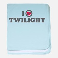 Don't Heart Twilight baby blanket