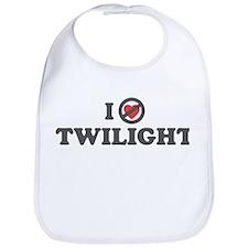 Don't Heart Twilight Bib