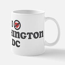 Don't Heart Washington Dc Mug