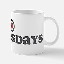 Don't Heart Wednesdays Mug