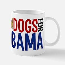Dogs for Obama Small Small Mug
