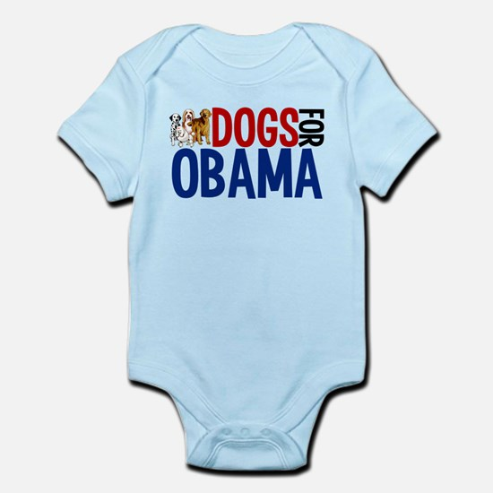 Dogs for Obama Infant Bodysuit