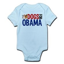 Dogs for Obama Onesie