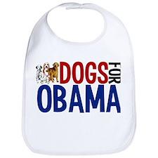 Dogs for Obama Bib