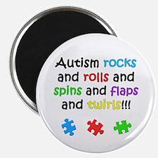 Autism Rocks Magnet