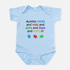 Autism Rocks Infant Bodysuit