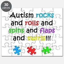 Autism Rocks Puzzle