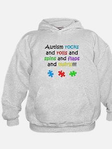 Autism Rocks Hoodie
