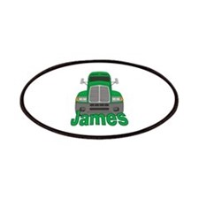 Trucker James Patches