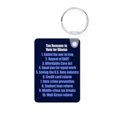 Obama's Accomplishments Keychains