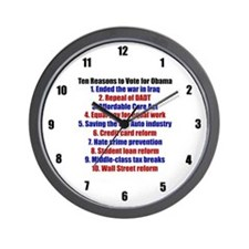 Obama's Accomplishments Wall Clock