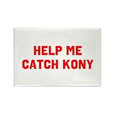 Catch Kony Rectangle Magnet