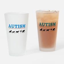Autism, Around Since Noah Lin Drinking Glass
