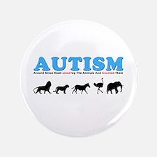 "Autism, Around Since Noah Lin 3.5"" Button"