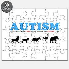 Autism, Around Since Noah Lin Puzzle