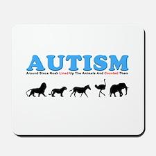 Autism, Around Since Noah Lin Mousepad