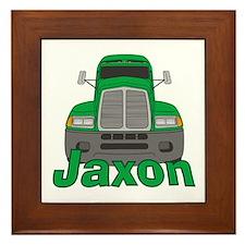 Trucker Jaxon Framed Tile
