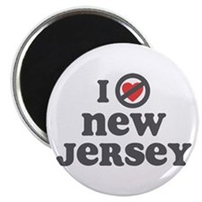 Don't Heart New Jersey Magnet