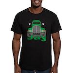 Trucker Jay Men's Fitted T-Shirt (dark)