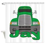 Trucker Jay Shower Curtain
