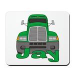 Trucker Jay Mousepad