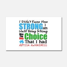 I didnt Know How Strong I am Car Magnet 20 x 12