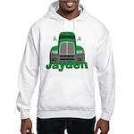 Trucker Jayden Hooded Sweatshirt