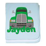 Trucker Jayden baby blanket