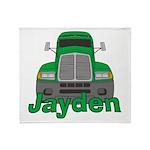 Trucker Jayden Throw Blanket
