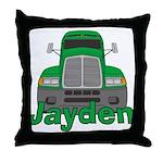 Trucker Jayden Throw Pillow