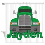 Trucker Jayden Shower Curtain