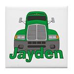 Trucker Jayden Tile Coaster