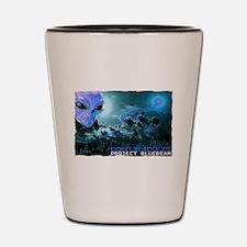 project bluebeam Shot Glass