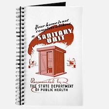 Sanitation Unit WPA Poster Journal