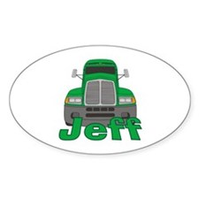Trucker Jeff Decal