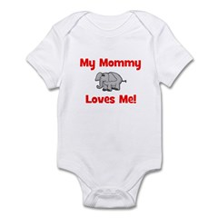 My Mommy Loves Me! w/elephant Infant Creeper