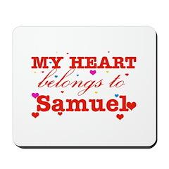 I love Samuel Mousepad