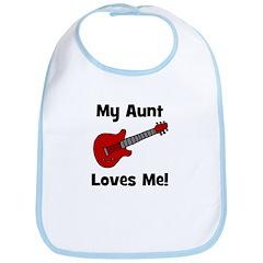 My Aunt Loves Me! w/guitar Bib