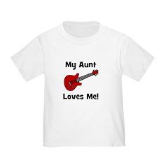 My Aunt Loves Me! w/guitar T