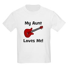 My Aunt Loves Me! w/guitar Kids T-Shirt