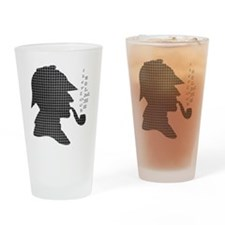 Sherlock Holmes - Drinking Glass