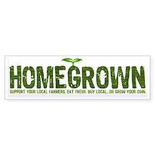 """""""Homegrown"""" Bumper Bumper Bumper Sticker"""