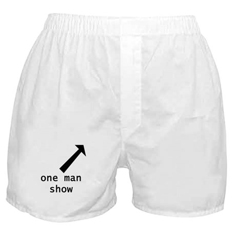 One Man Show Boxer Shorts