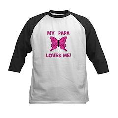 My Papa Loves Me! w/butterfly Tee