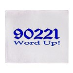 90221 Compton California Throw Blanket