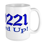 90221 Compton California Large Mug