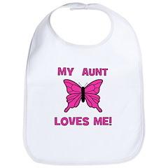 My Aunt Loves Me! w/butterfly Bib